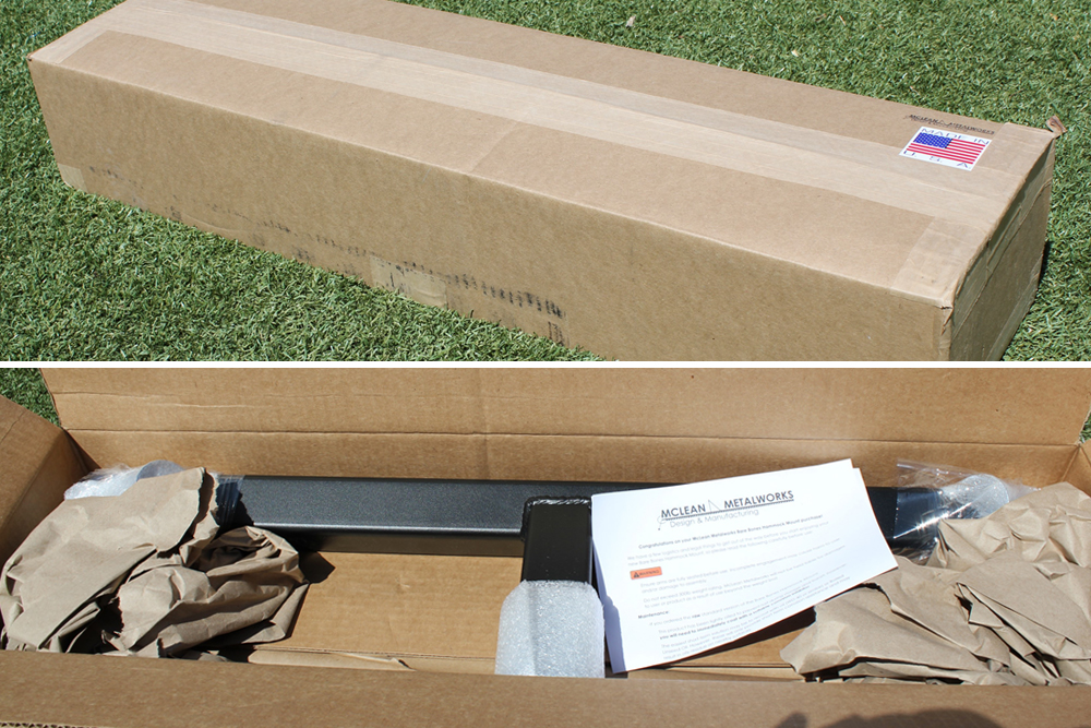 Mclean Metalworks Bare Bones Hammock Install & Full Review: Packaging, Unboxing & Contents