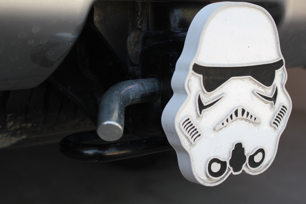 Mclean Metalworks Bare Bones Hammock Install & Full Review: Storm Trooper Hitch Cover