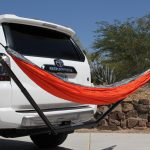 Mclean Metalworks Bare Bones Hammock Install & Full Review: Hammock Mount on 4Runner Hitch
