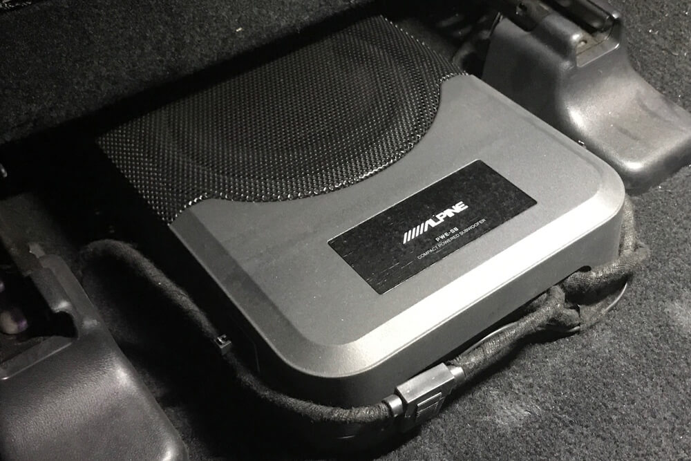 Alpine PWE-S8 Underseat Subwoofer Step By Step Install On the 5th Gen 4Runner
