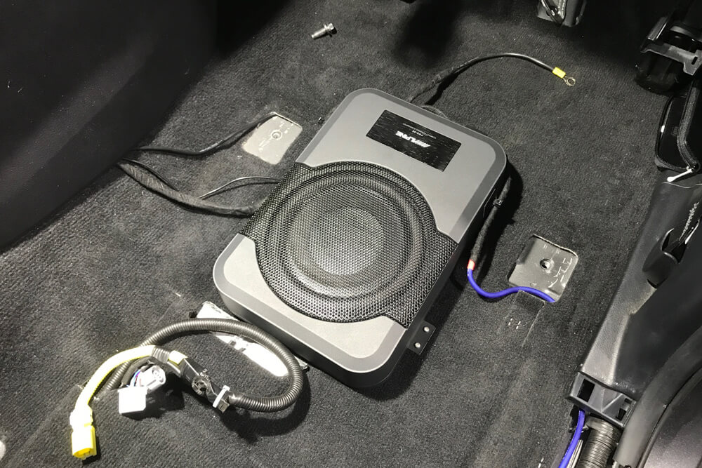 Alpine PWE-S8 Underseat Subwoofer Step By Step Install On the 5th Gen 4Runner: Step 13. Clean up All of The Wires