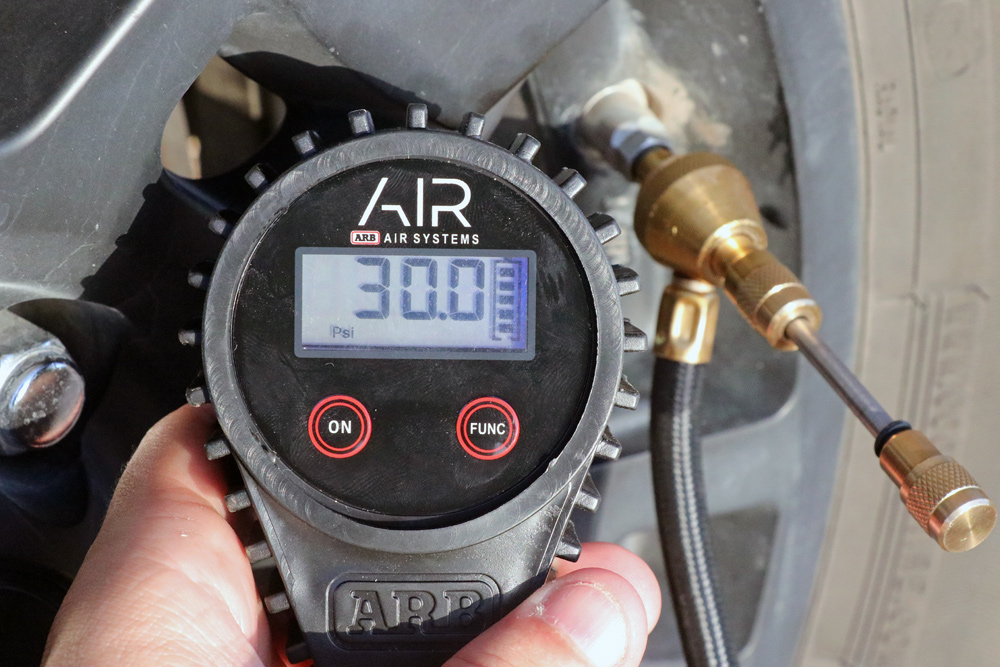 ARB Digital Tire Deflator For Lower Air Pressure For Off-Roading & Trailing in the 5th Gen 4Runner: Why Air Down?