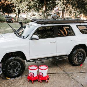 """2 Bucket Method"" & Setup: Quick & Easy Hand Washing your truck using Adam's Polishes"