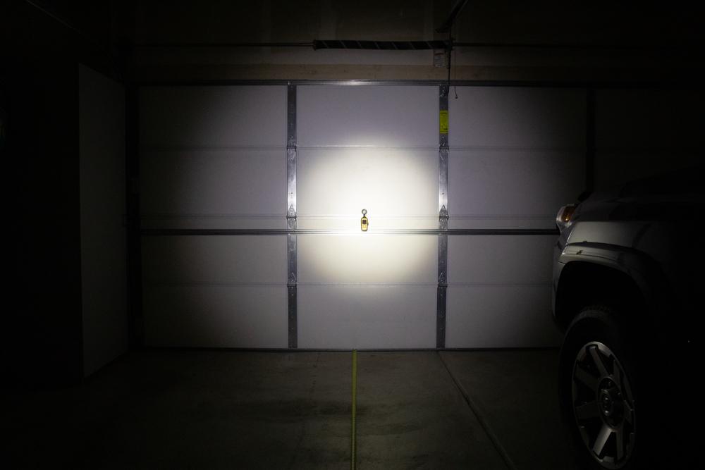 LED Maglite Beam Pattern