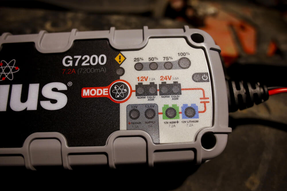 NOCO G7200 Battery Charger: An In-depth Review & DIY Installation For the 5th Gen 4Runner - 12V AGM