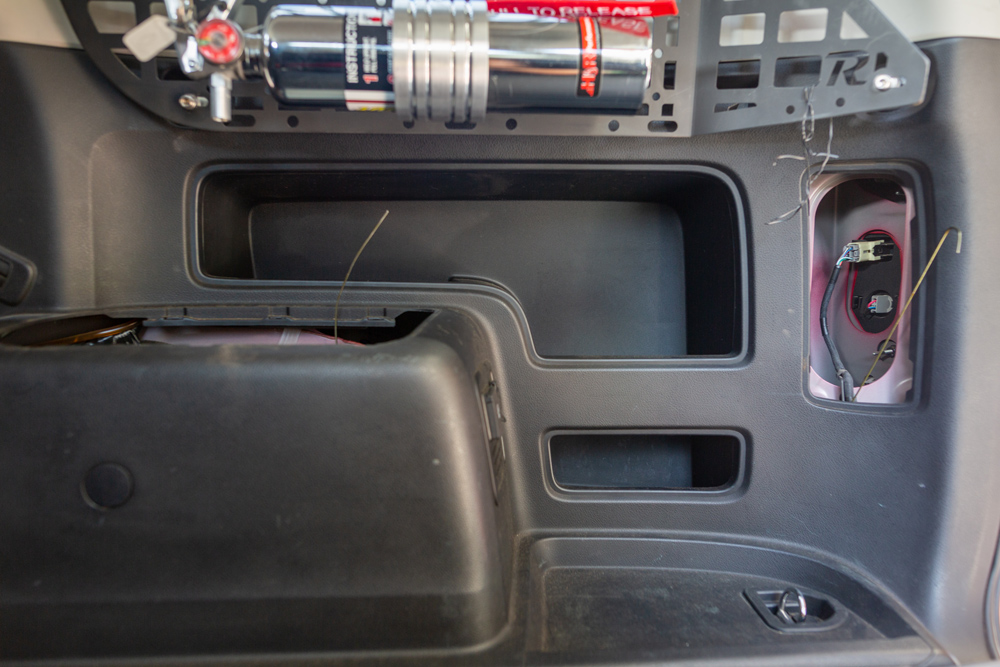 Off-Grid Engineering / Blue Sea Auxiliary Power Outlet Install On the 5th Gen 4Runner: Step 5C. Cargo Area to the Tail Light