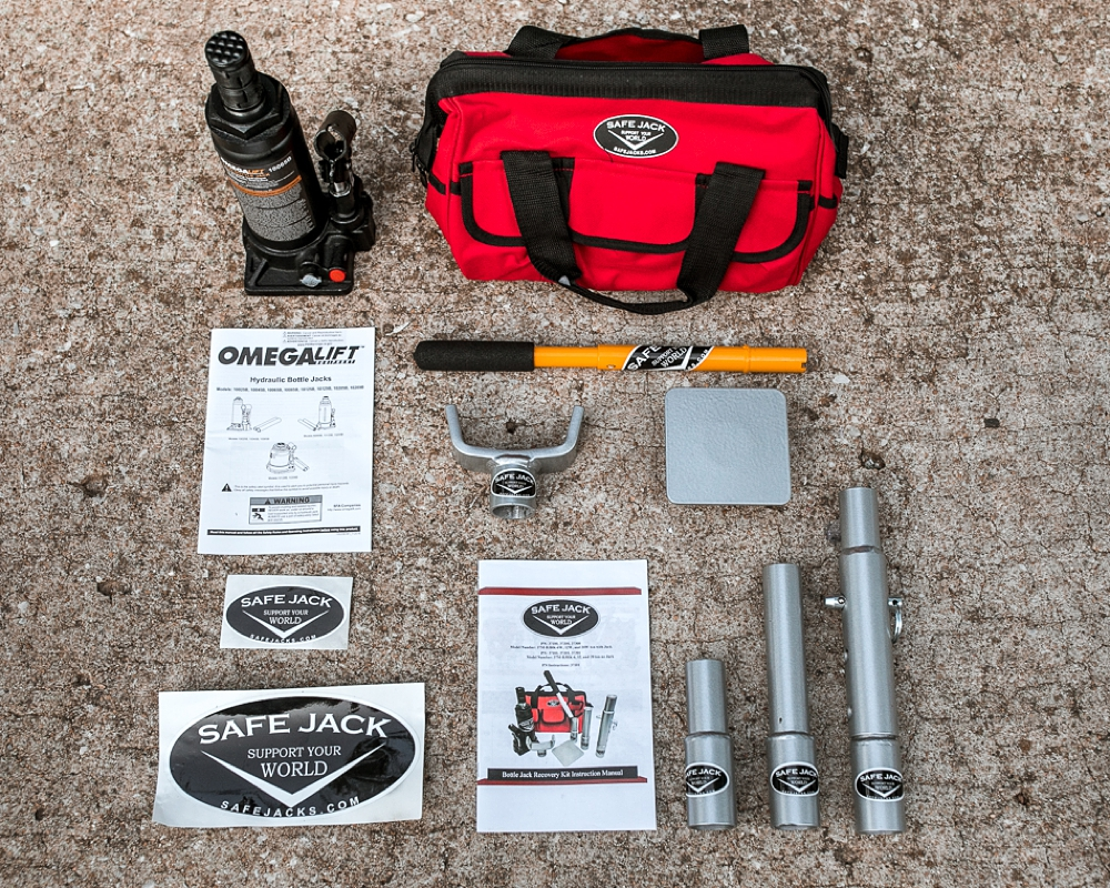 Safe Jack Recovery Kit + 6 Ton Bottle Jack Off Road Accessory: In-depth Review & Install For the 5th Gen 4Runner - What's included in the Kit?
