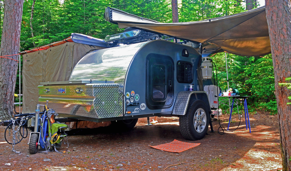 TCTeardrops Off-Road Trailers for the 5th Gen 4Runner: An Overview on Accessories for Camping in Comfort: Foxwing Awning