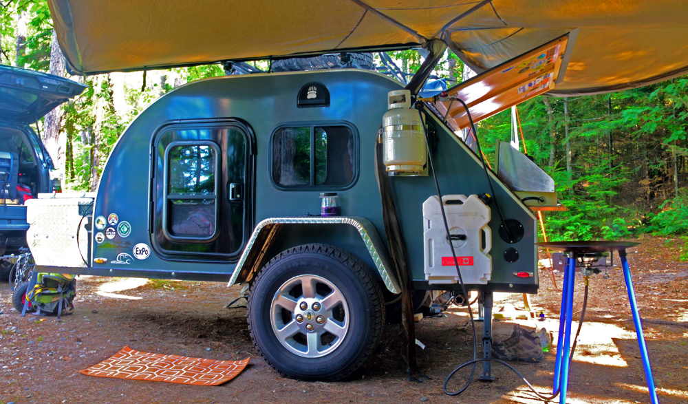 TCTeardrops Off-Road Trailers for the 5th Gen 4Runner: An Overview on Accessories for Camping in Comfort: Rotopax Storage