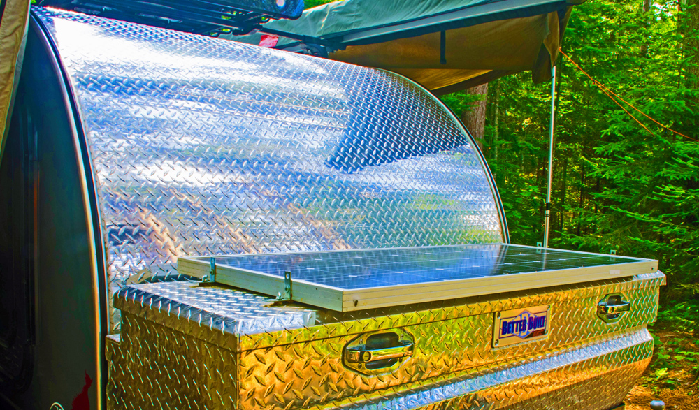 TCTeardrops Off-Road Trailers for the 5th Gen 4Runner: An Overview on Accessories for Camping in Comfort: Solar Power