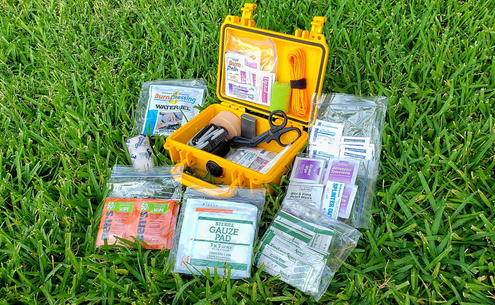 DIY First Aid Kit with Pelican Case