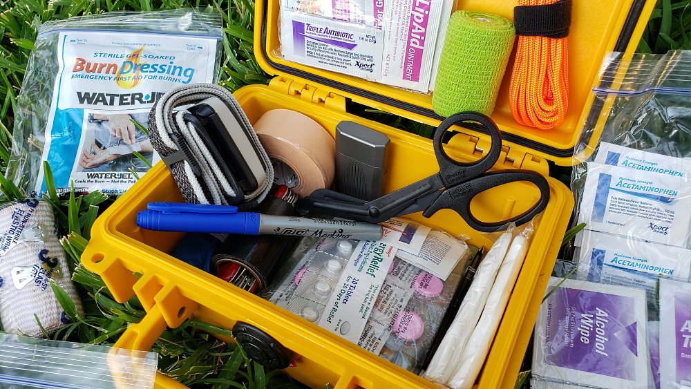 DIY Emergency First Aid Kit - Various & Random