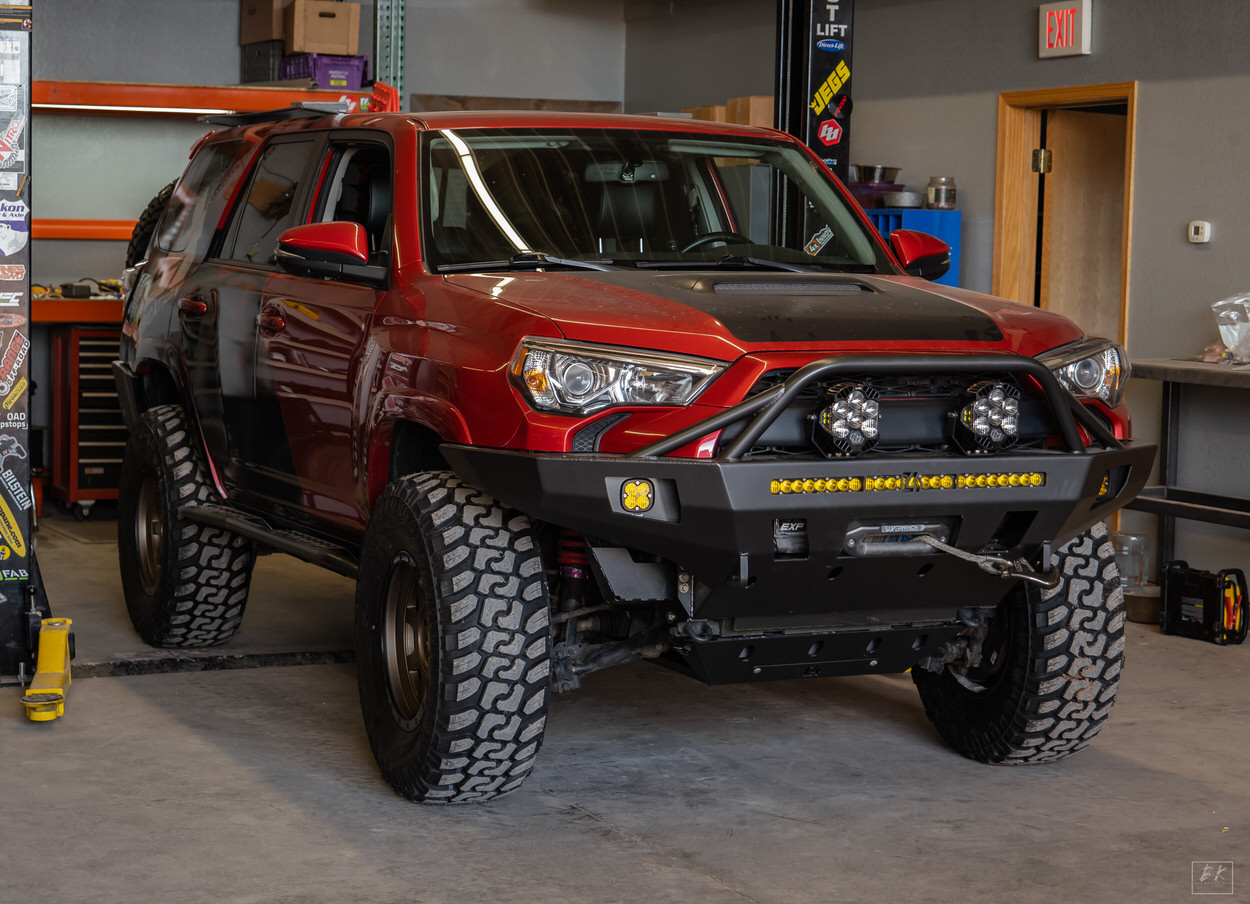C4 Fab Overland Series Bumpers