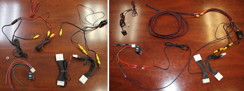 Anytime Backup and Front Camera DIY Install Overview For the 5th Gen 4Runner: Wiring Harness