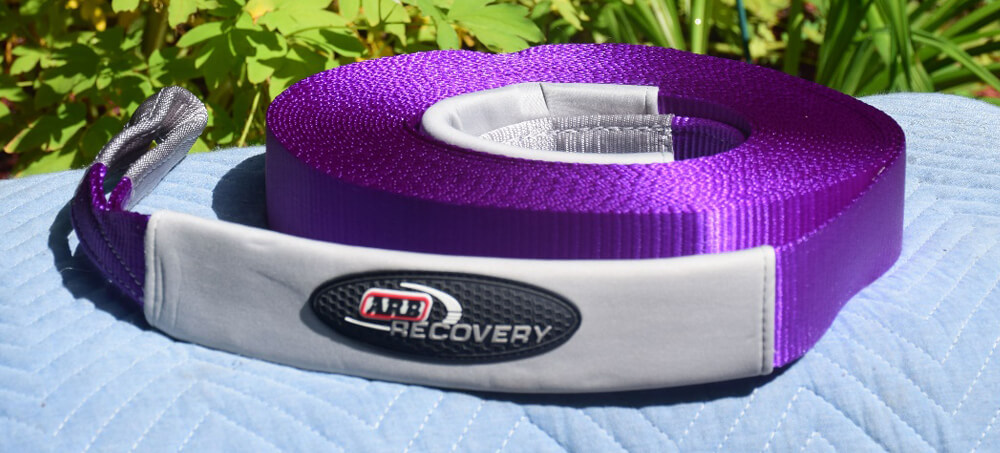 ARB RK9 Recovery Kit Review — All You Need in One Package For Your 4Runner: Winch Extension Strap