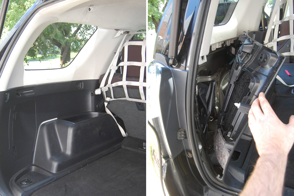 Autoease Power Liftgate Product Review & Install:  Autoease's Electric Powered Liftgate for 5th Gen 4Runner. STEP 1: REMOVE/LOOSEN THE INTERIOR PANELS