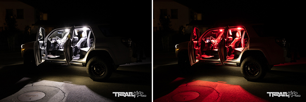 Car Trim Home 4Runner Dome Lights