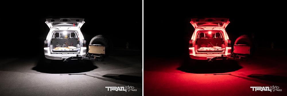 Car Trim Home 4Runner Hatch Lights