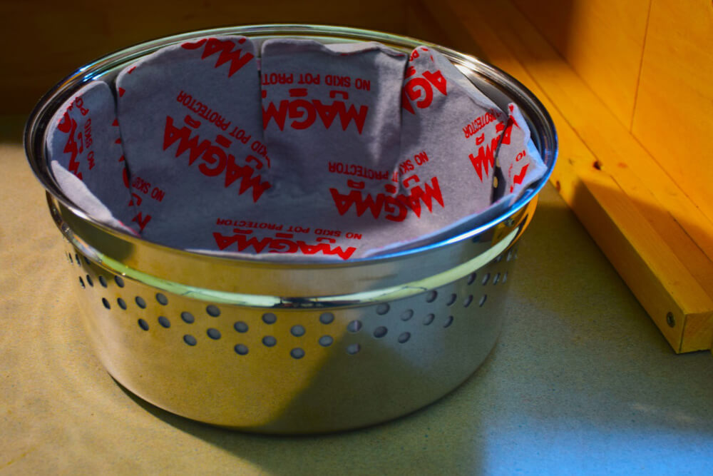 Magma Cookware Review: Camping Gear For Gourmet Cooking Off the Beaten Path: Stainless Steel Colander