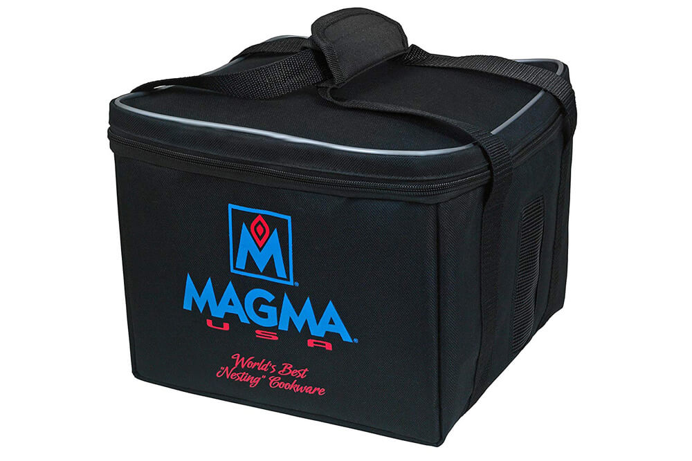 Magma Cookware Review: Camping Gear For Gourmet Cooking Off the Beaten Path: Magma Padded Storage / Carry Case