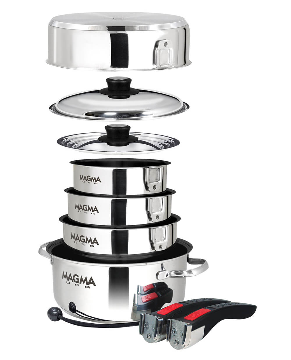 Magma Cookware Review: Camping Gear For Gourmet Cooking Off the Beaten Path: The Complete Stacking Package