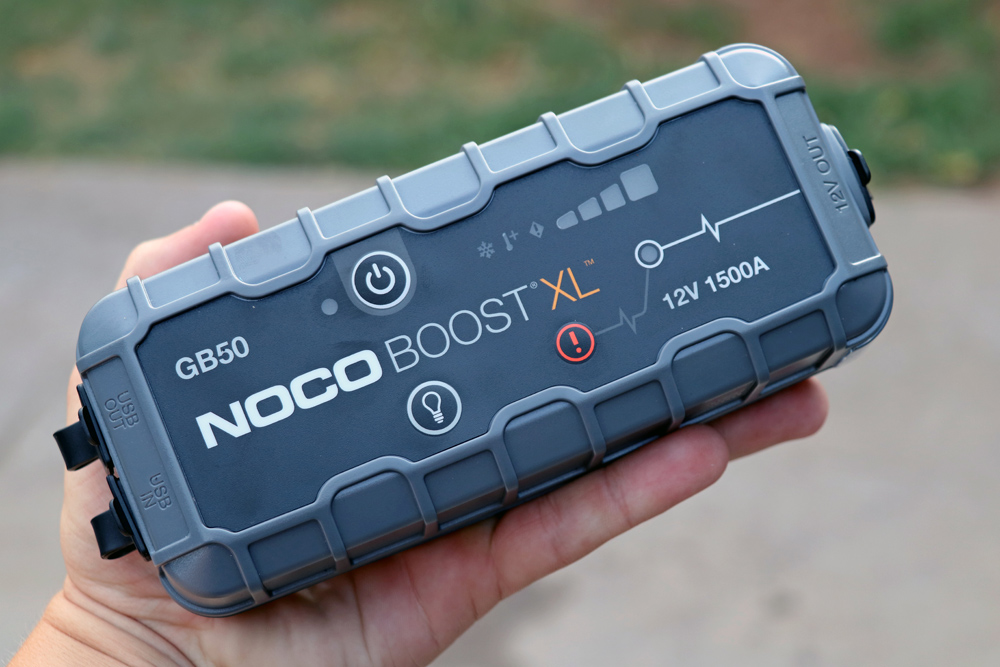 NOCO GB50 Portable Jump Starter: Review + Install For the 5th Gen 4Runner