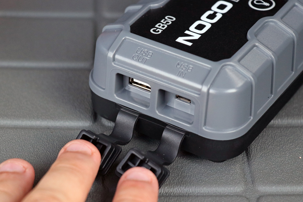 NOCO GB50 Portable Jump Starter: Review + Install For the 5th Gen 4Runner: 2.1 AMP USB out