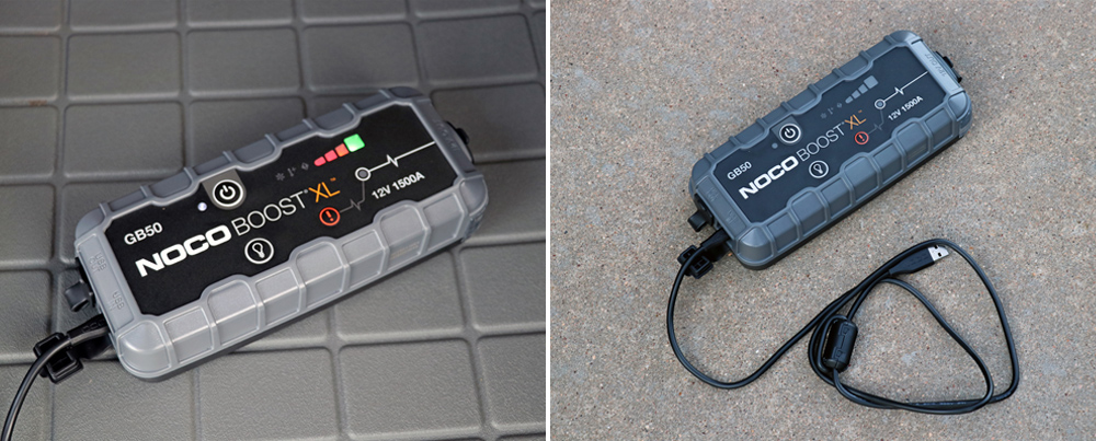 NOCO GB50 Portable Jump Starter: Review + Install For the 5th Gen 4Runner: Charging