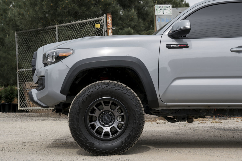 Gun Metal RR5-S on Cement Tacoma