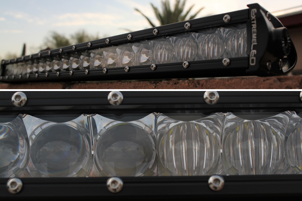 "Victory 4X4 Blitz Bumper Review For 5th Gen 4Runner — Part 1: Extreme LED Extreme 20"" Single Row LED Light Bar Combo"