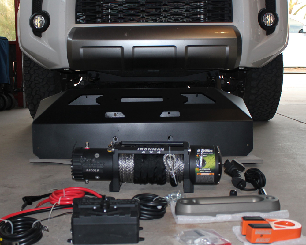 "Victory 4X4 Blitz Bumper / Ironman 4X4 Monster Winch / Extreme LED 20"" Bar Step By Step Install For 5th Gen 4Runner"