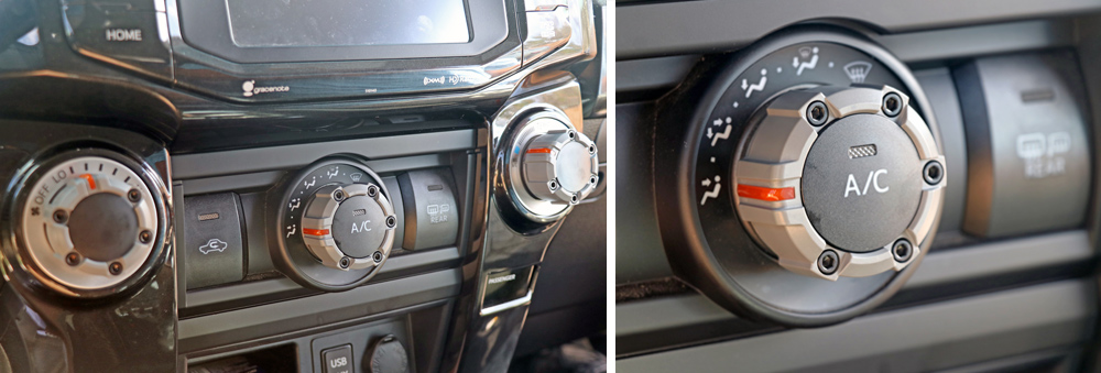 AJT Custom Climate Control Knobs: An Easy DIY Interior Upgrade For the 5th Gen 4Runner: Overall Impression