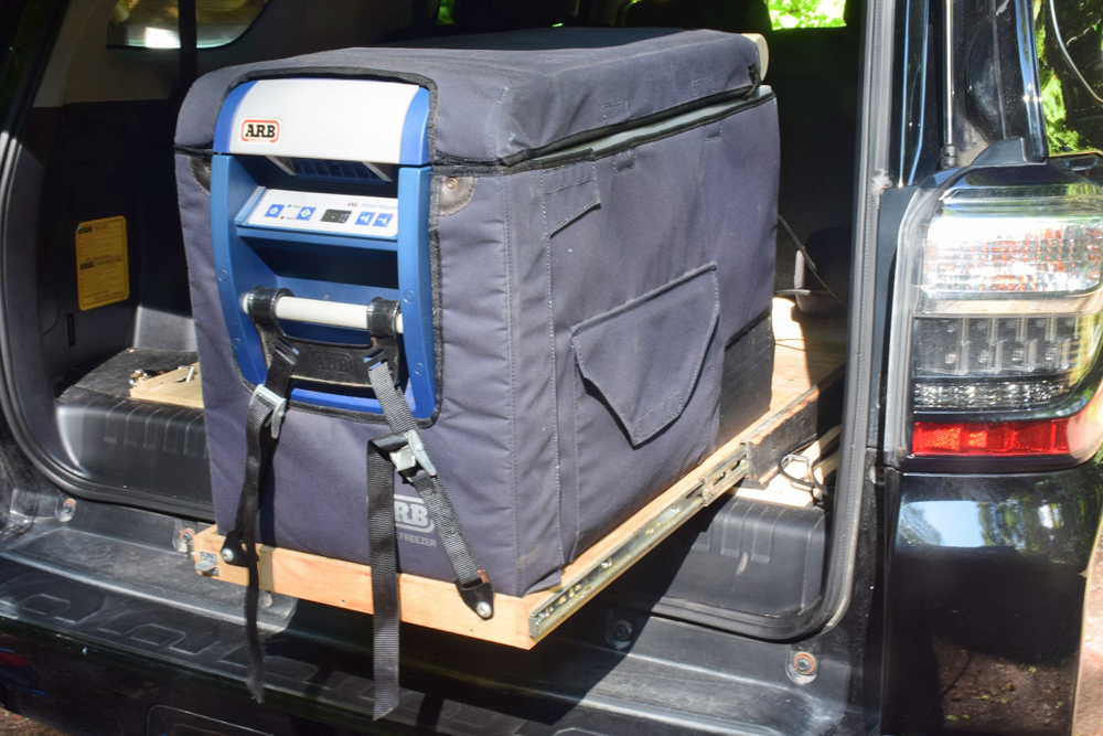 ARB 50 Quart Fridge Freezer Review For the 5th Gen 4Runner: The Perfect Overland & Off-Road Companion: ARB Fridge Freezer in Transit Bag