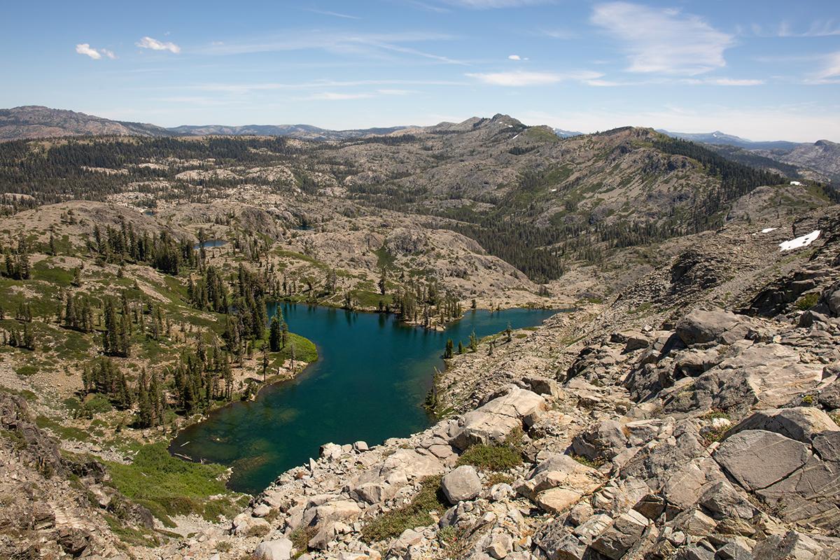 Sanford Lake and Downey Lake