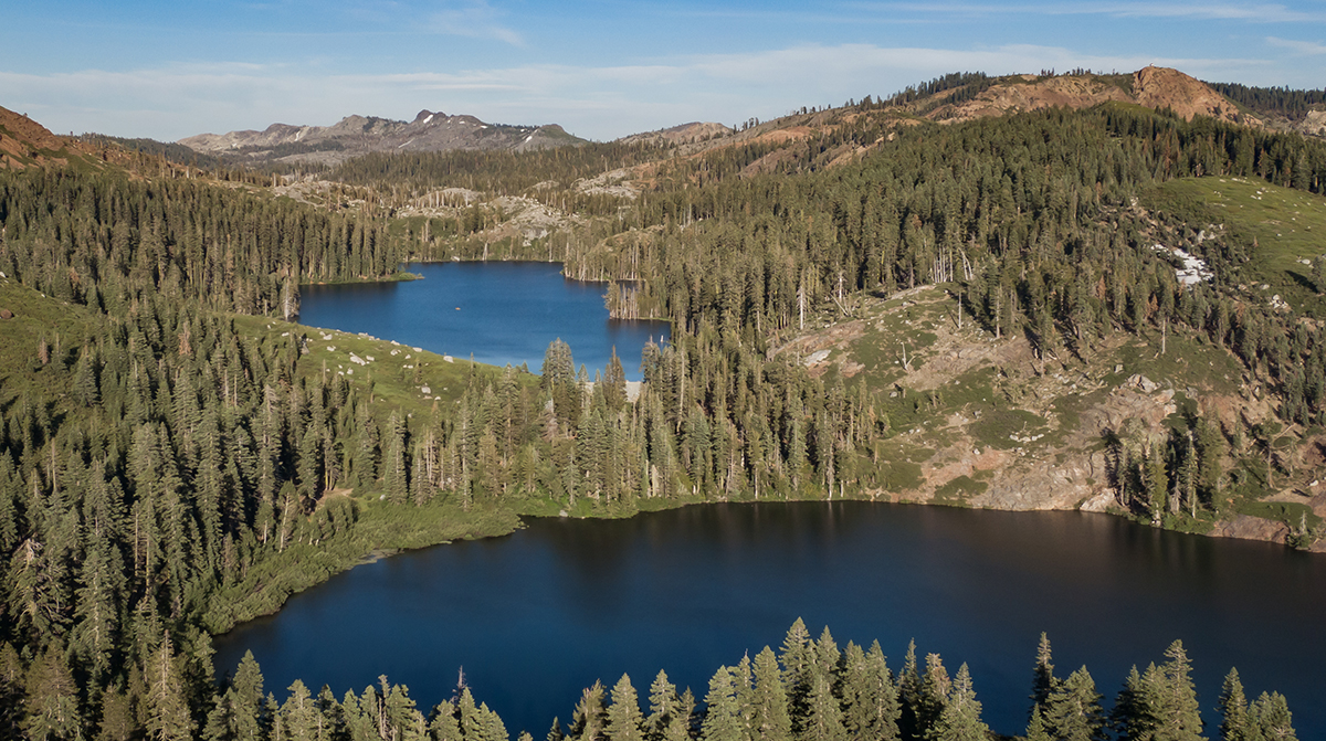 Carr Lake and Feely Lake - Tahoe National Forest