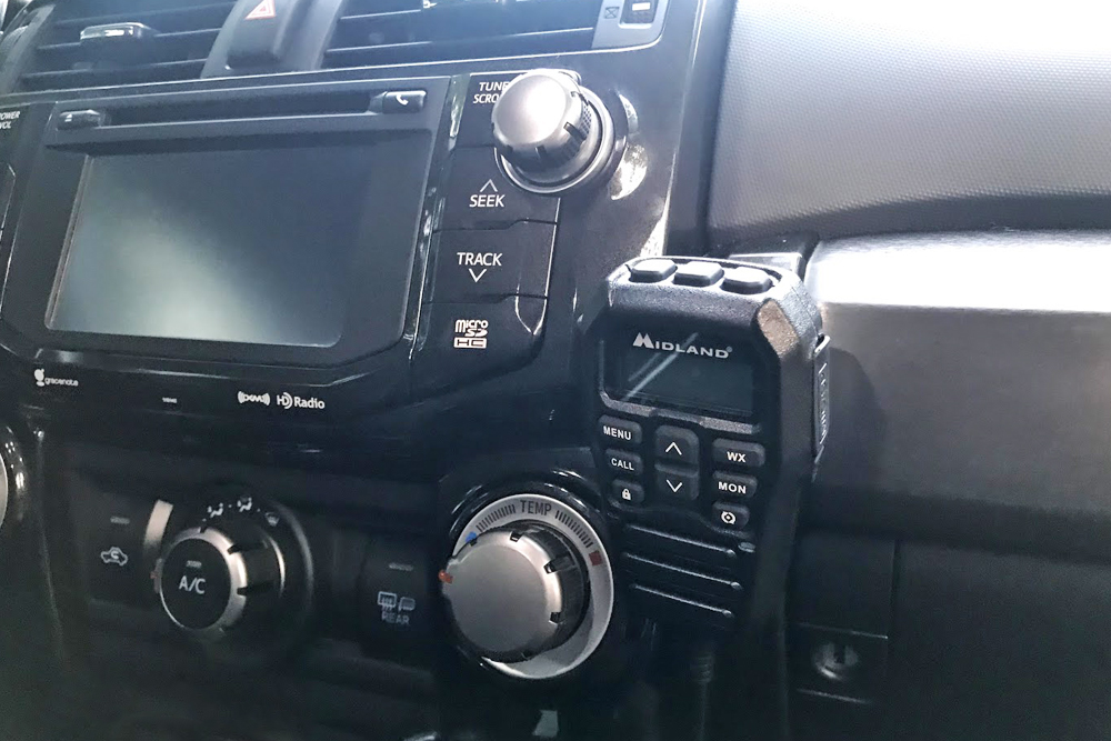 Midland MXT275 GMRS Two-Way Radio + Detachable Mount Setup: Step-By-Step Install on the 5th Gen 4Runner