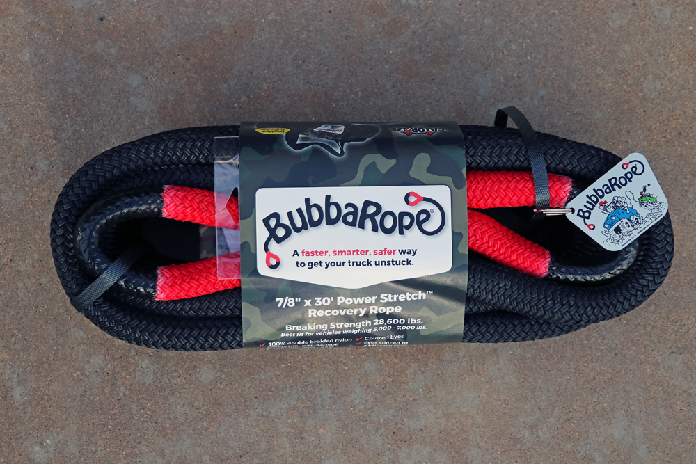 Bubba Rope PowerStretch Recovery Rope and Gator Jaw Soft Shackles Review For the Off-Roader & Overlander: Why Choose the Original PowerStretch Bubba Rope?