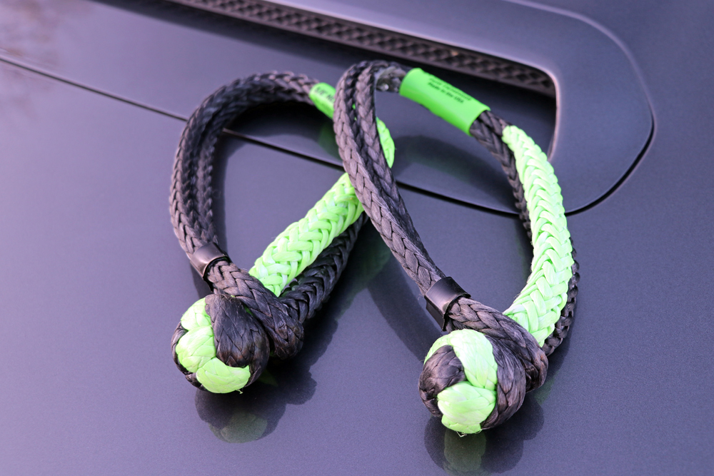 Bubba Rope PowerStretch Recovery Rope and Gator Jaw Soft Shackles Review For the Off-Roader & Overlander: Bubba Rope Gator Jaw Soft Shackles