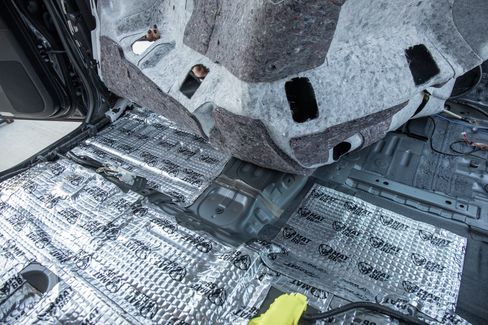 Sound Deadening Floors - Center