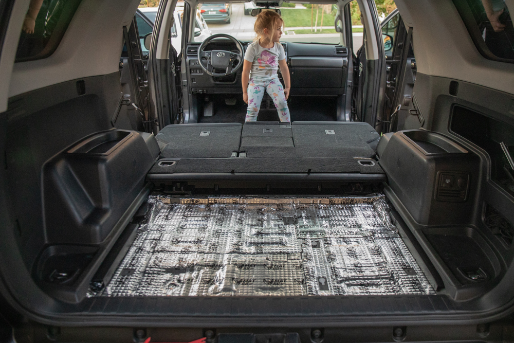 Reinstall Rear Seats & Cargo Storage Tray