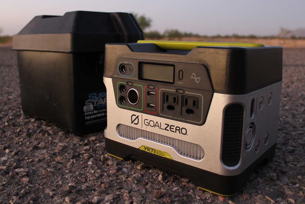 "Goal Zero Yeti 400/""1200"" and Boulder 100 Briefcase Review For the 5th Gen 4Runner"