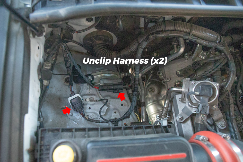 MORE ARB Bracket - Unclip Harness
