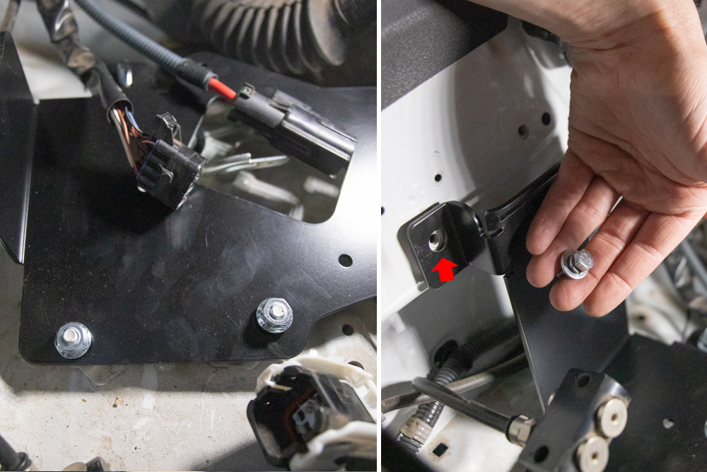 MORE ARB Bracket - Tighten Down Bracket with Provided Hardware