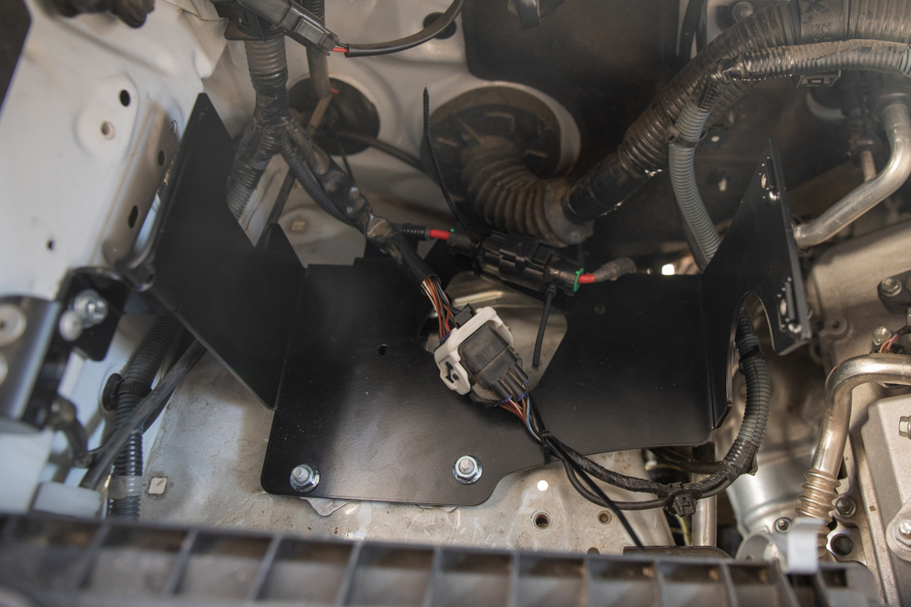 MORE ARB Bracket - Reinstall Wiring Harness