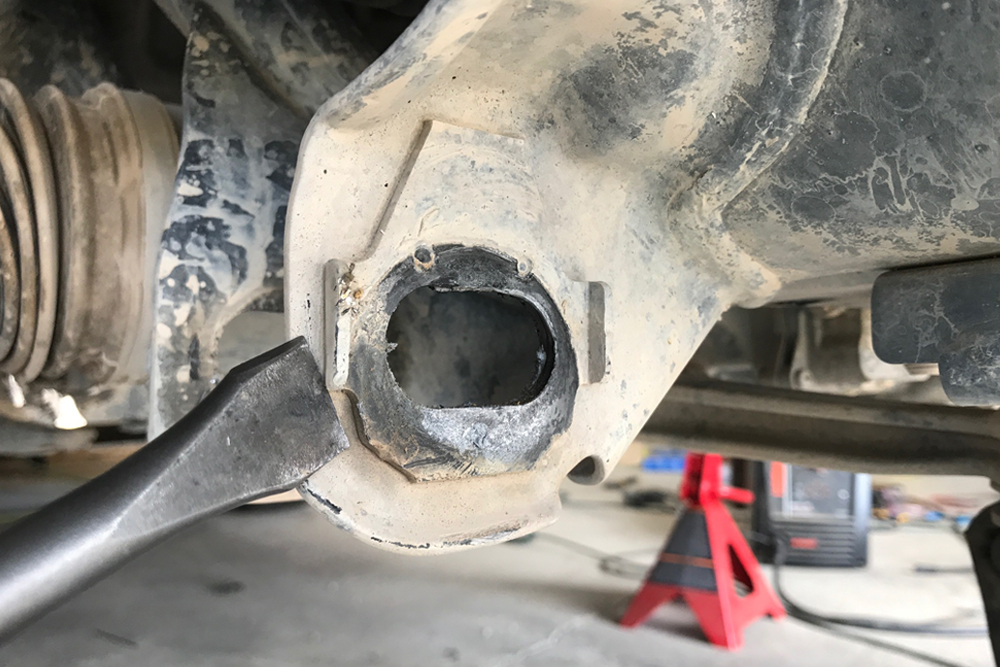 Total Chaos Weld-On Cam Tab Gussets For Off-Road Performance: Step-By-Step Install on the 5th Gen 4Runner: Remove Stock Tabs