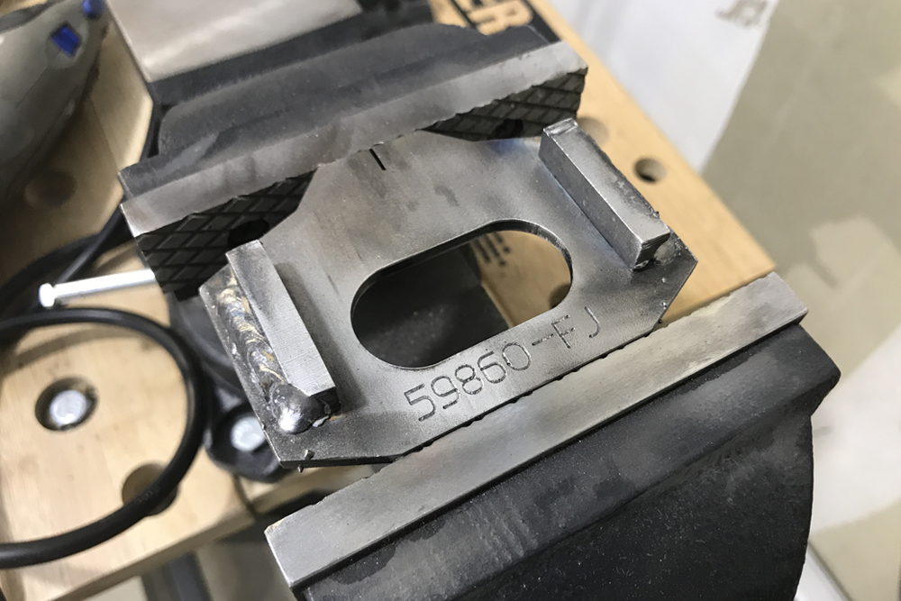 Total Chaos Weld-On Cam Tab Gussets For Off-Road Performance: Step-By-Step Install on the 5th Gen 4Runner: Finish Welding Gussets Together
