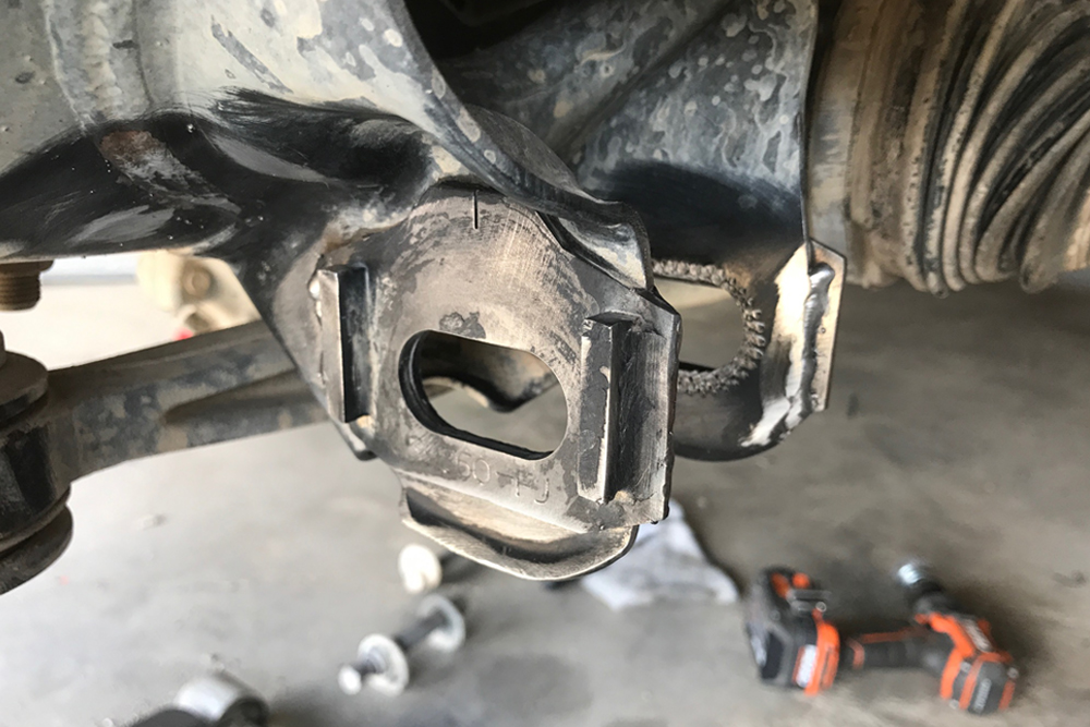 Total Chaos Weld-On Cam Tab Gussets For Off-Road Performance: Step-By-Step Install on the 5th Gen 4Runner: WELDED GUSSETS IN PLACE