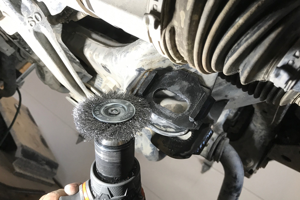 Total Chaos Weld-On Cam Tab Gussets For Off-Road Performance: Step-By-Step Install on the 5th Gen 4Runner: PREP FOR PAINTING