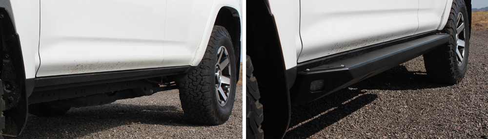 Victory 4X4 Blitz Rock Sliders: Install Overview + Comparison to ARTEC Rock Sliders For 5th Gen 4Runner: Before & After Install