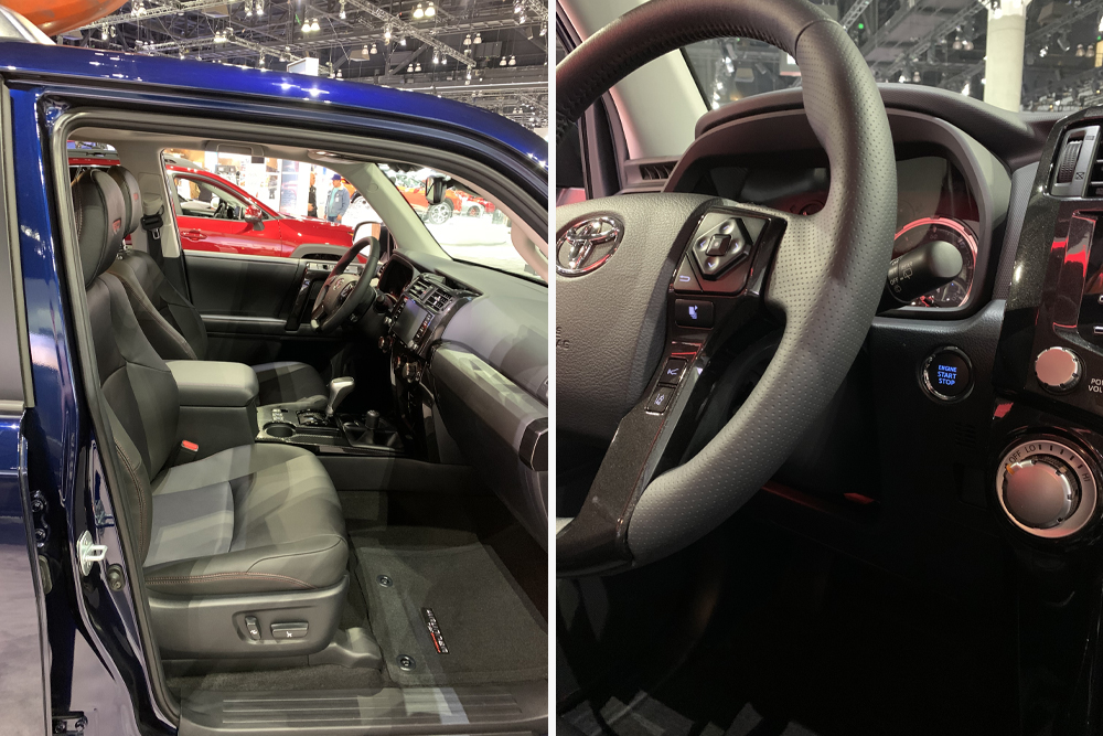 2020 4Runner TRO Pro at The LA Auto Show: First Glance and Overall Thoughts of the Gen 5 Tailout: Interior Features of the '20 TRD Off-Road